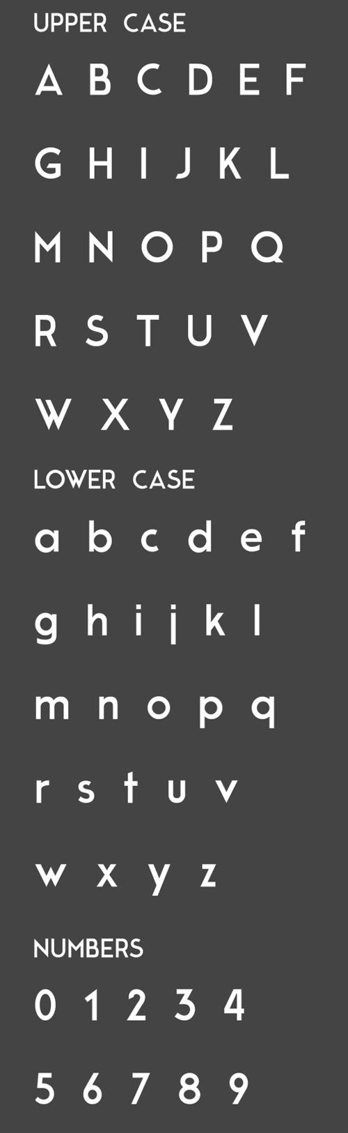Moderne Sans Font