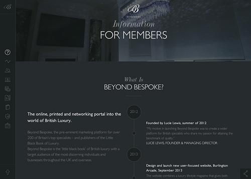 Members Information Area