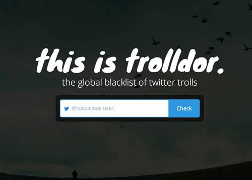 the global blacklist of twitter trolls