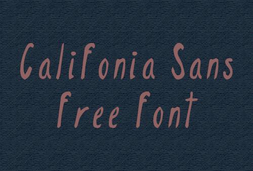 Califonia Sans Font