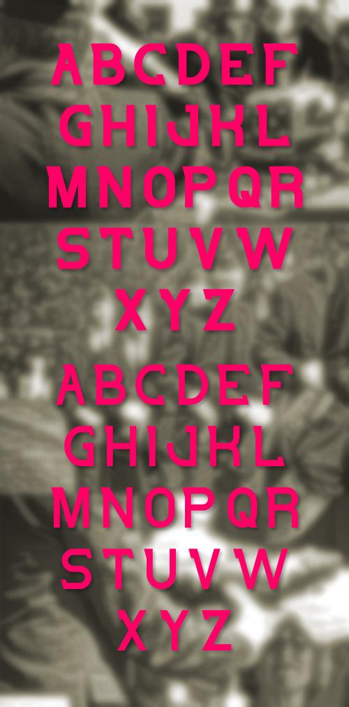Salute Font
