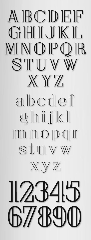 London Typeface Font