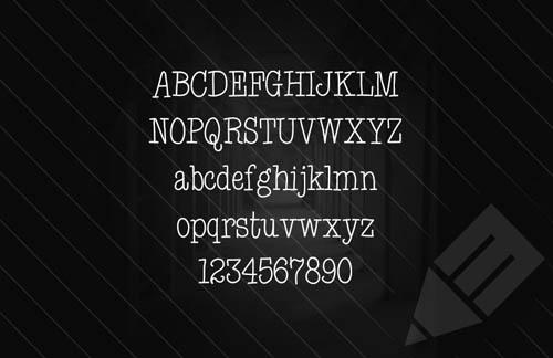 Corridor - Thin Hand Written Web Font
