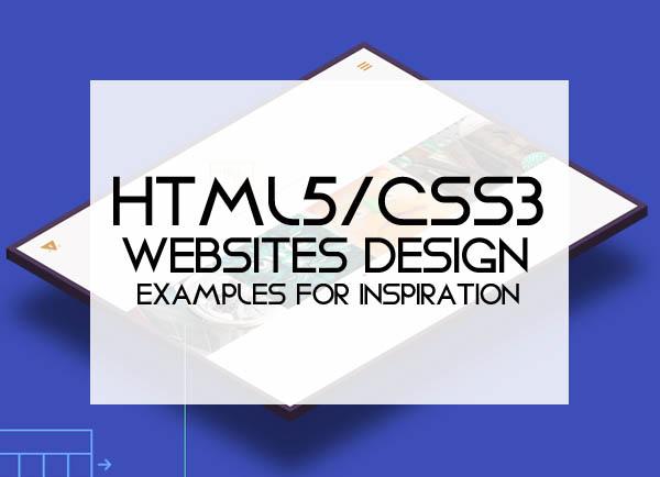 HTML5/CSS3 Websites Design – 25 New Inspiring Examples