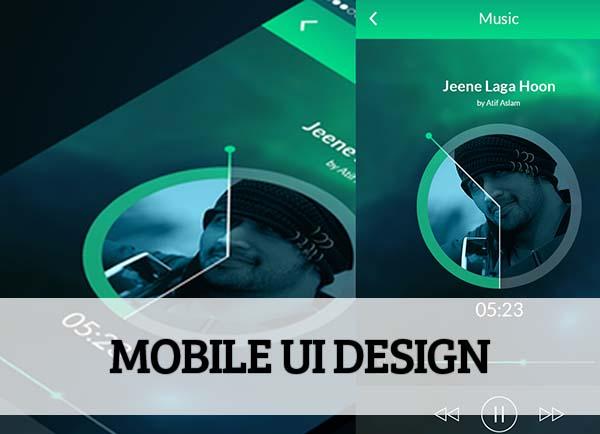 Mobile UI design for Inspiration - 9