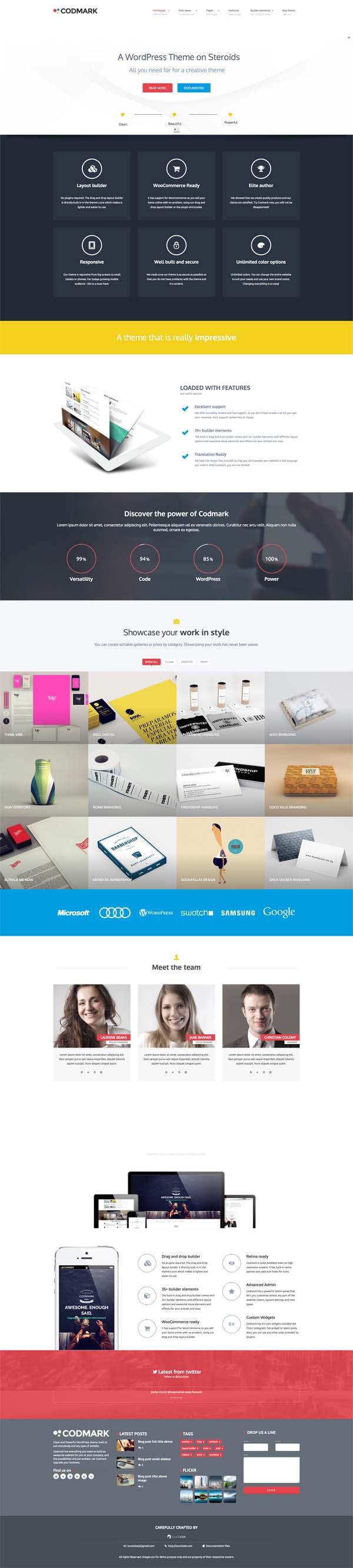 Codmark : Creative Multi-Purpose WP Theme