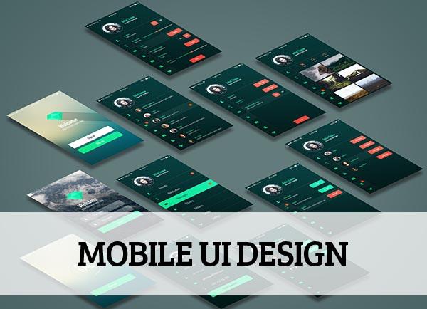 Mobile UI design for Inspiration - 11