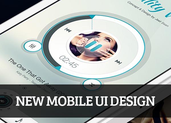 Mobile UI design for Inspiration - 10