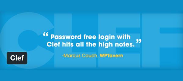 Clef WordPress Two Factor Authentication WordPress Plugin