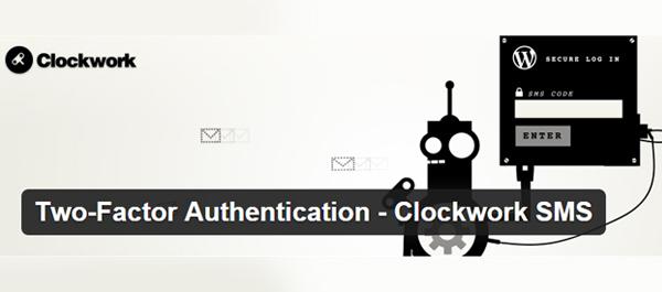 Two-Factor Authentication - Clockwork SMS WordPress Plugin