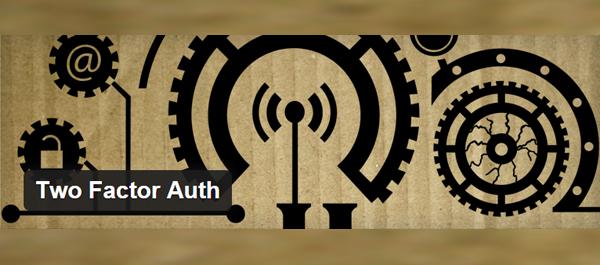 Two Factor Auth WordPress Plugin