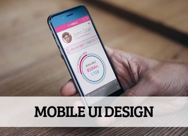 Mobile UI design for Inspiration - 16