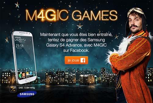 M4GIC GAMES / Un Noel magique