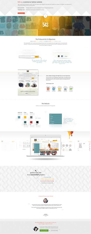 543.ro - eCommerce fashion website