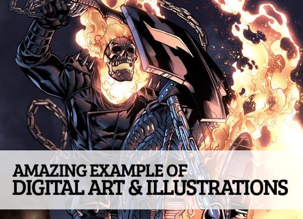 25 Amazing Digital Art & Illustrations for Graphic Designers