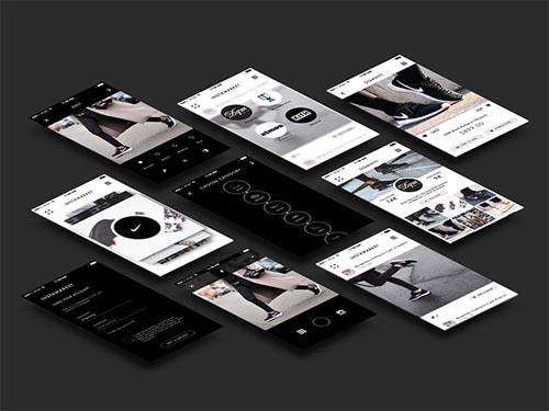 UI Design / Instamarket