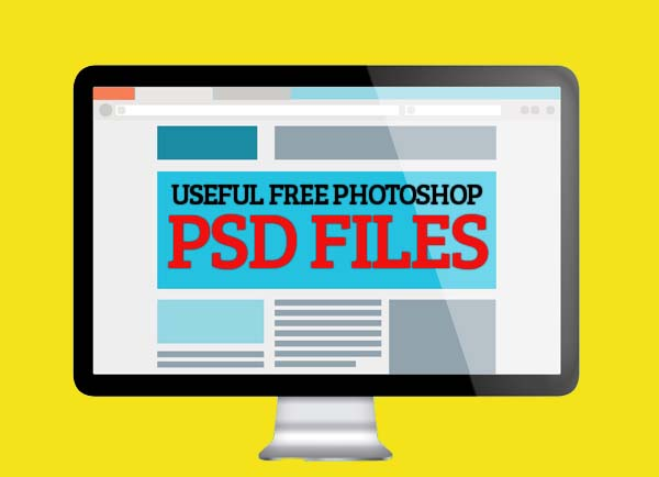 25+ Cool Useful Free Photoshop PSD Files for Designers