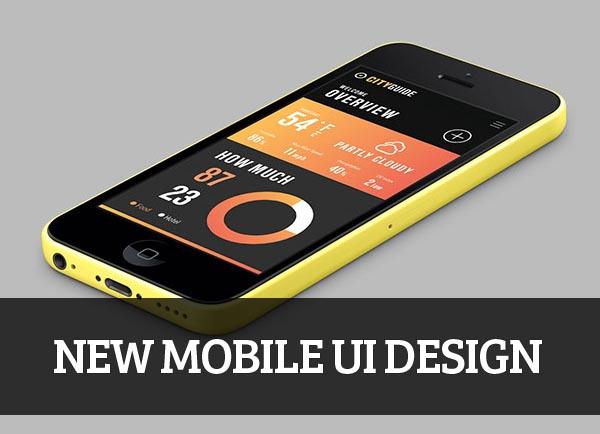 Mobile UI design for Inspiration – 35
