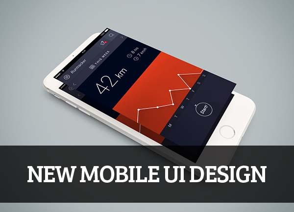 Mobile UI design for Inspiration - 36