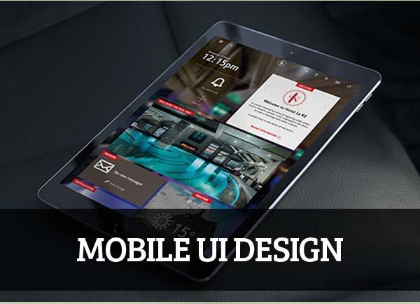 Mobile UI design for Inspiration – 40