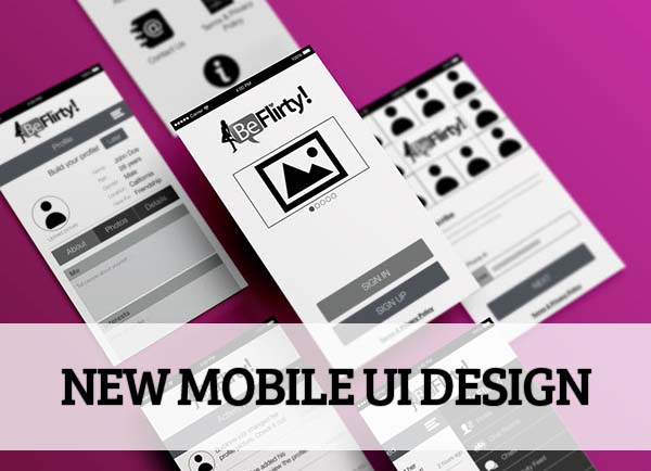 Mobile UI design for Inspiration - 41