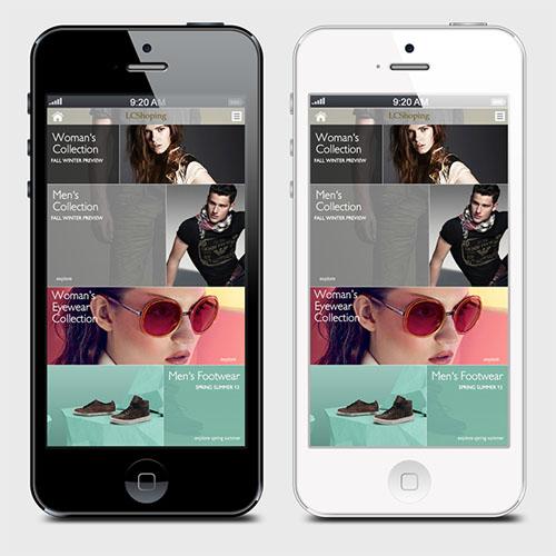 LSCShoping Mobile Application