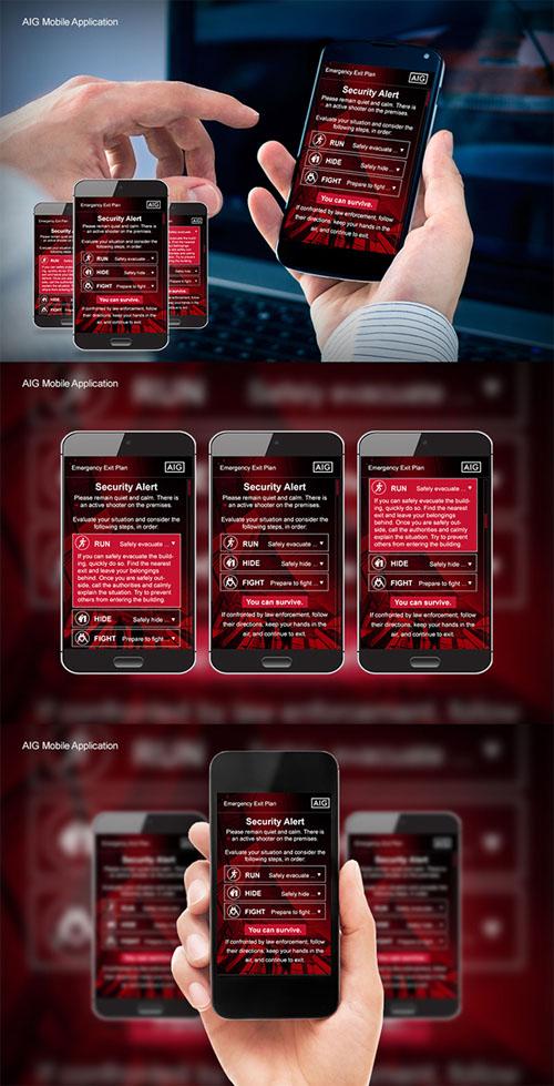 AIG: Mobile UI Design
