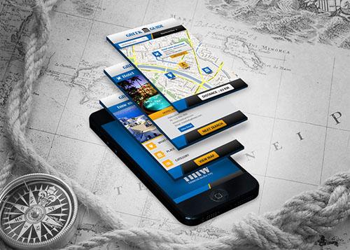 Mobile App for Greece