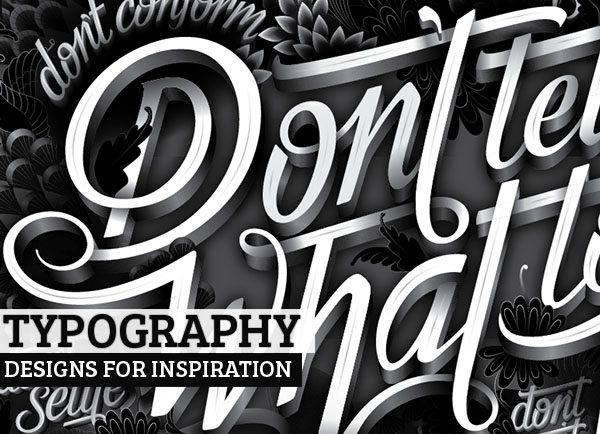 25 Fantastic Typography Designs for Designers