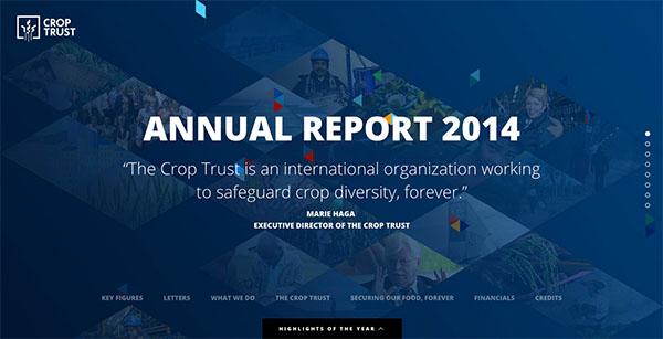 Crop Trust - Annual Report 2014