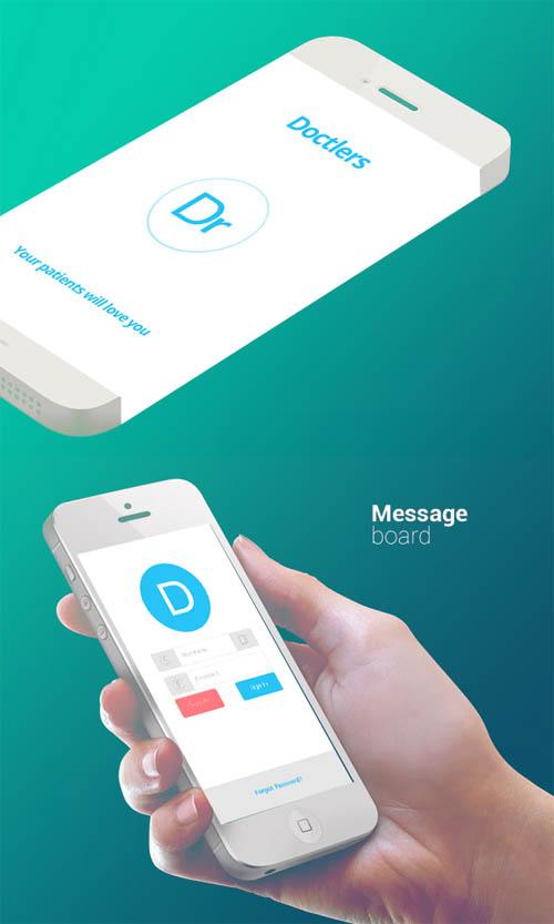 Doctlers App Designs