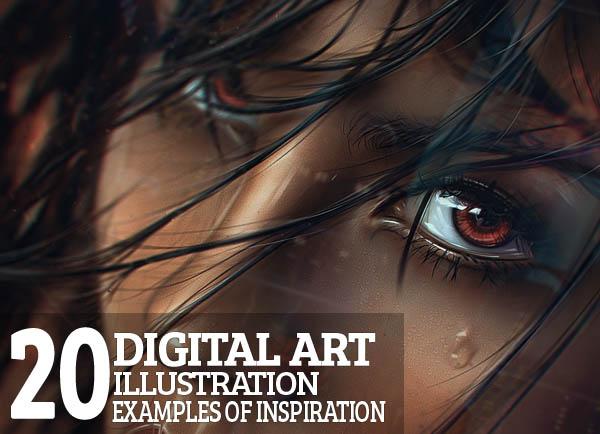 20 Digital Art Illustration Examples of Inspiration