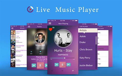 Live Music Player