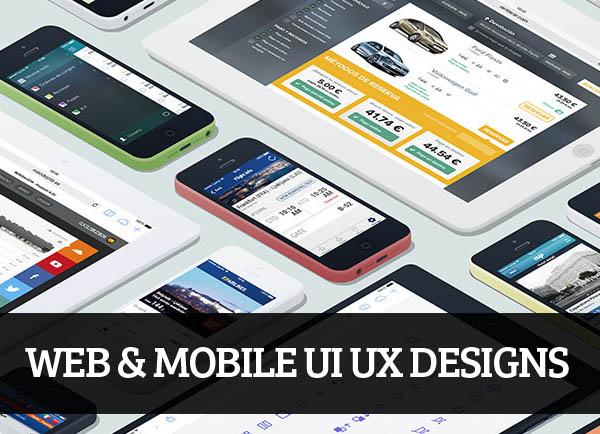 Web & Mobile UI UX Designs for Inspiration – 62