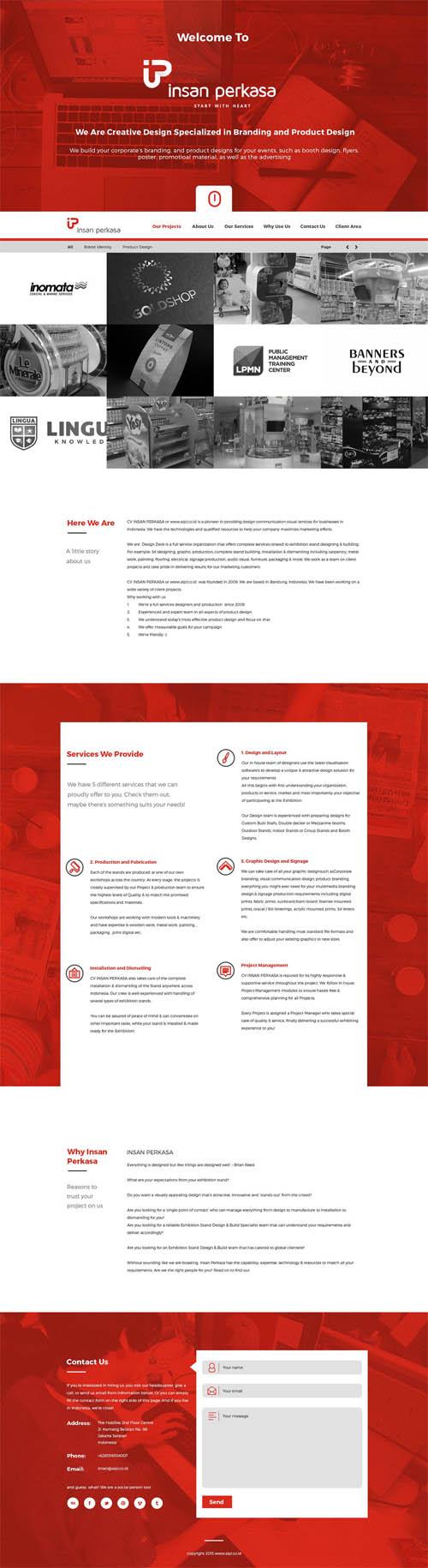 AIPI Website UI
