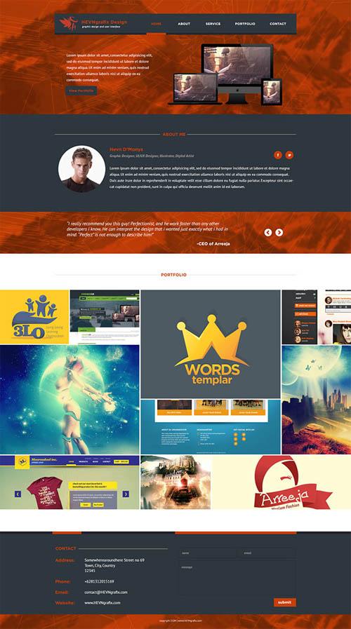 HevnGrafix Website