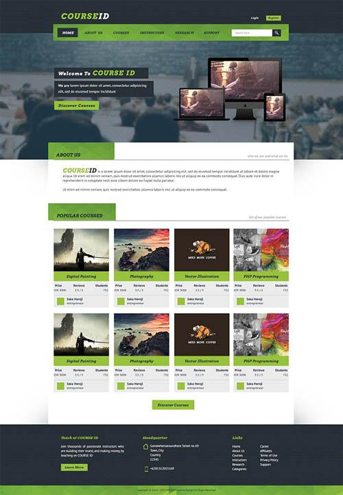 CourseID Website
