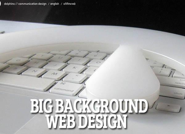 26 Cool Big Background Web Design for Inspiration