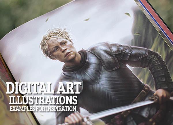 13 Colorful Digital Art & Illustrations Inspiration