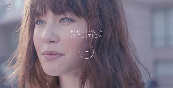 Peugeot - Follow your Intuition By dpdk
