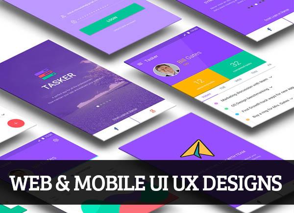 Web & Mobile UI UX Designs for Inspiration – 75