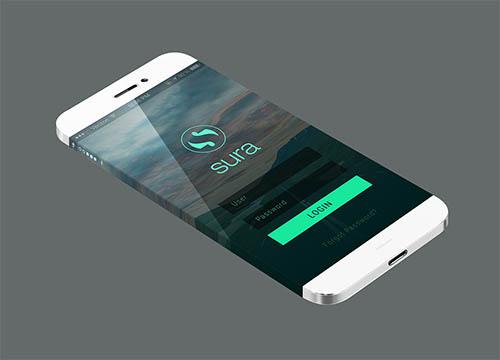 Creative Mobile Application UI Design By Ananda Das