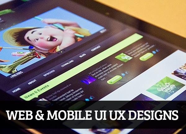 Web & Mobile UI UX Designs for Inspiration – 78