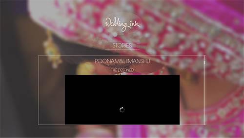 Wedding Ink Website By Apoorva Nair