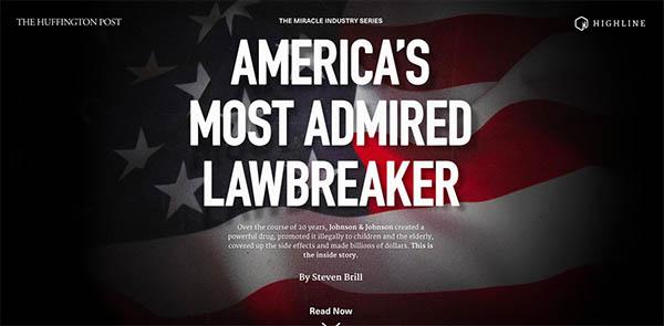 Highline: America's Most Admired Lawbreaker By Gladeye
