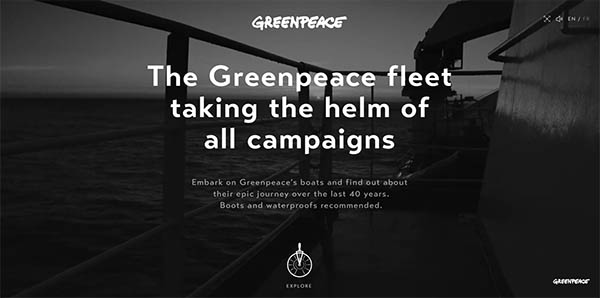 Sailing with Greenpeace By TWLVR