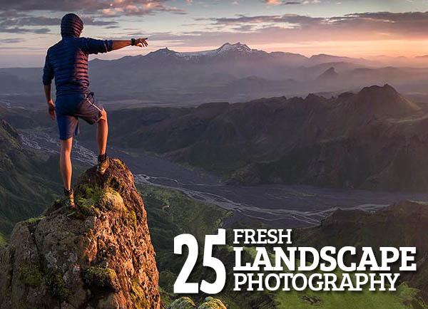 Fresh Landscape photography – 25 Exapmles