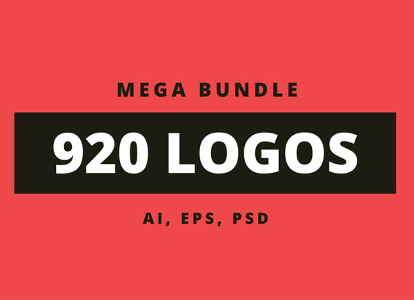 900+ Amazing Logos Bundle Available in .AI & .PSD