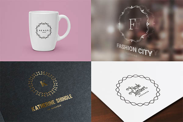 900+ Amazing Logos Bundle Available in .AI & .PSD - 10
