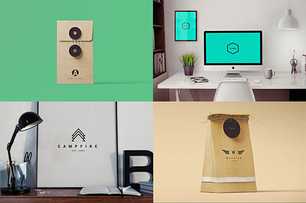 900+ Amazing Logos Bundle Available in .AI & .PSD - 27
